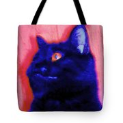 Gepetto The Cat Godzilla Tote Bag