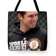 Gerald Buster Posey Tote Bag