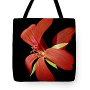 Geranium Flower Tote Bag