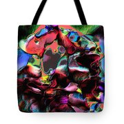 Geranium Gone Wild Tote Bag