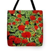 Geranium Flowers Tote Bag