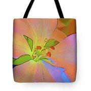 Geranium In Color Tote Bag