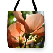 Geranium Joy Tote Bag