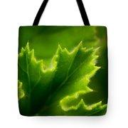 Geranium Leaf Tote Bag