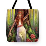 Geranium - Resilience Tote Bag by Anne Wertheim