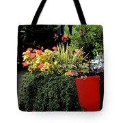 Geraniums And Gelato Tote Bag