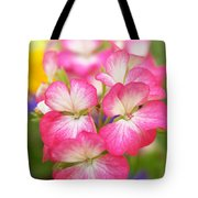 Geraniums On A Brilliant Summer Day Tote Bag