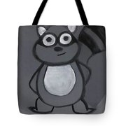 Gerard The Raccoon Tote Bag