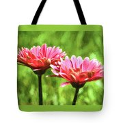 Gerbera Daisies To Brighten Your Day Tote Bag