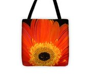 Gerbera Daisy - Glowing In The Dark Tote Bag