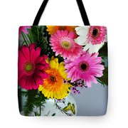Gerbera Daisy Bouquet Tote Bag