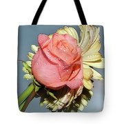 Gerbers With The Rose Tote Bag