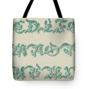 German Arabesque  Tote Bag