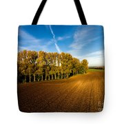 Fields From Above Tote Bag