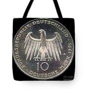 German Mark Tote Bag