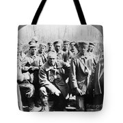 German Prisoners Of War Tote Bag