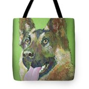 German Shephered Tote Bag