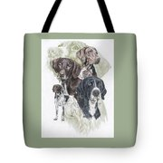 German Shorted-haired Pointer Revamp Tote Bag