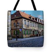 German Street Scene Tote Bag
