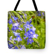 Germander Speedwell Tote Bag