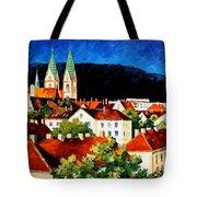 Germany Freiburg Tote Bag
