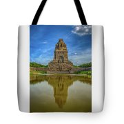 Germany - Monument To The Battle Of The Nations In Leipzig, Saxony Tote Bag