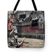 Gerome: Gladiators, 1874 Tote Bag by Granger