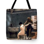Gerome: The Bath, 1880 Tote Bag by Granger