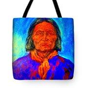 Geromino - Chiricahua Apache Leader Tote Bag
