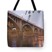 Gervais Bridge Tote Bag by Steven Richardson