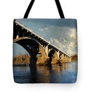 Gervais Street Bridge, Columbia, Sc Tote Bag