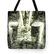 Gery Tote Bag