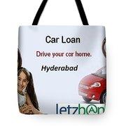 Get Car Loans In Hyderabad At Letzbank Tote Bag