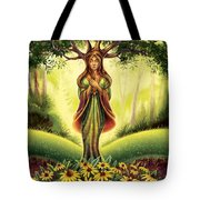 Get Grounded - Black Eyed Susan Tote Bag