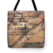 Get Perspective Quote Tote Bag