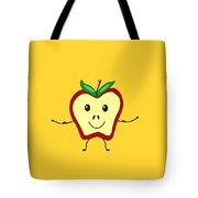 Get Physical Apple - Health Tote Bag