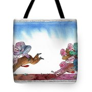 Get Ready For Corporate  Horse Racing Tote Bag