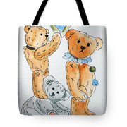 Get Ready Teddy Tote Bag
