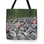 Get Ready To Ride Tote Bag