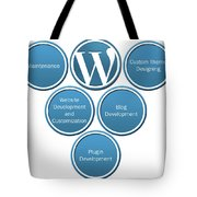 Get Result Oriented Word Press Development Services Tote Bag