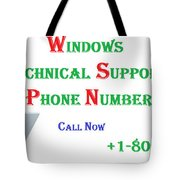 Get Technical Support For Windows Tote Bag