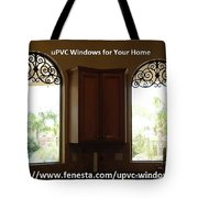 Get Your Home Beautiful By Upvc Windows Tote Bag