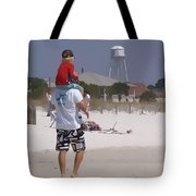 Getting A Lift Tote Bag