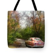 Getting Away Tote Bag