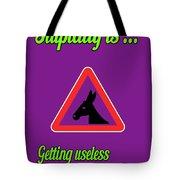 Getting Bigstock Donkey 171252860 Tote Bag