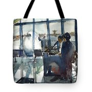 Getting It Out On Time Tote Bag