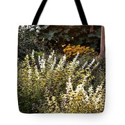 Lost In The Flower Garden Tote Bag