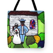 Getting Married Today Tote Bag