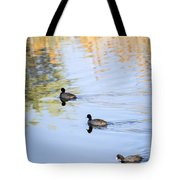 Getting My Ducks In A Row Tote Bag
