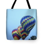 Getting Off The Ground Tote Bag